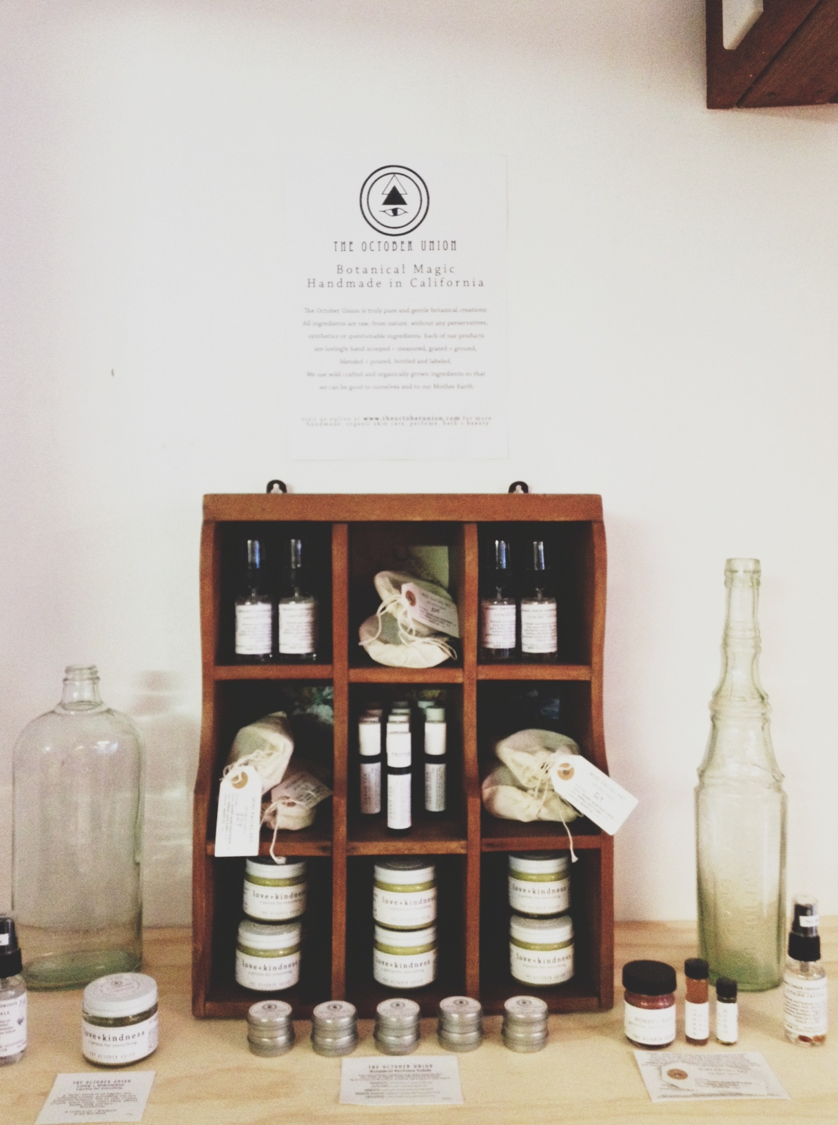 The October Union – Botanical Magic – Hand Made in California |